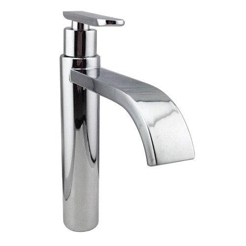 SPEED Wasserhahn Kaltwasser Armatur Wasserfall Einhand Spültisch Küchen Bad Waschtisch