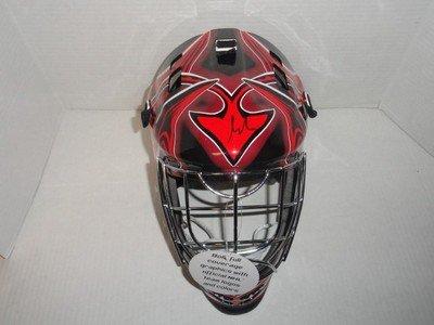 Martin Brodeur Signed New Jersey Devils Full-size Goalie Mask Jsa Authenticated - Autographed NHL Helmets and Masks