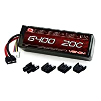 Venom 20C 3S 6400mAh 11.1 LiPO Battery with Universal Plug System from Venom Group International