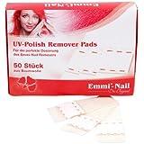 Emmi-Nail UV Polish Remover Pads, 2er Pack (2 x 50 St.)