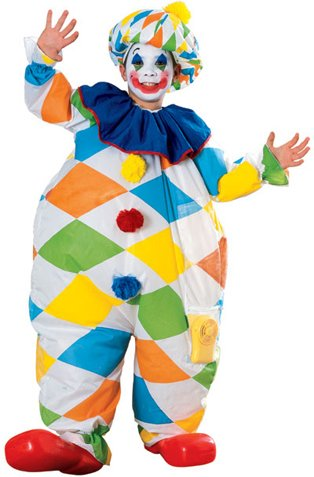 Clown Inflatable Child Costume