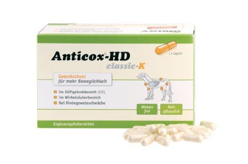 Artikelbild: Anibio Anticox-HD Classic K (Gelenkschutz) - 140 Kapseln
