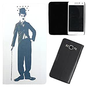 DooDa - For Lenovo A850 PU Leather Designer Fashionable Fancy Flip Case Cover Pouch With Smooth Inner Velvet