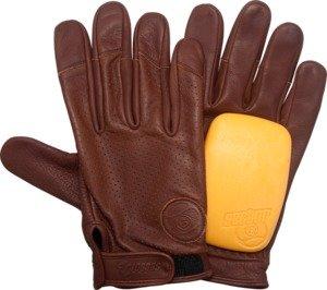 Sector 9 Driver Brown Large / X-Large Slide Gloves Downhill Slide Gloves