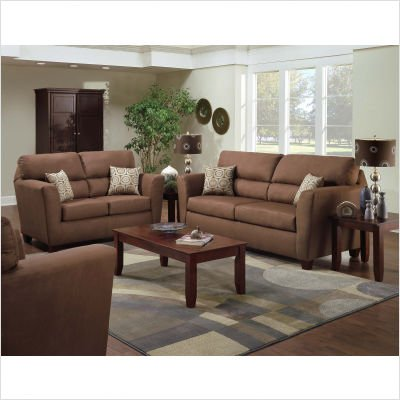 Buy Low Price American Furniture Calcutta Microfiber Sofa and Loveseat Set (B003XEPZ9Q)