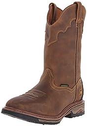 Dan Post Men\'s Blayde Work Boot, Saddle Tan, 13 D US