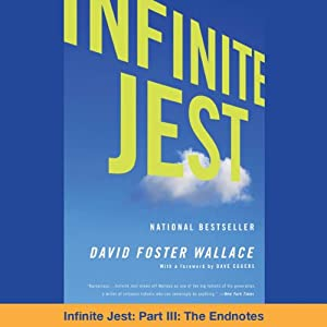 Infinite Jest, Part III: The Endnotes Audiobook