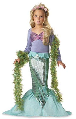 Little Mermaid Toddler/Child Halloween Costume Size:Medium