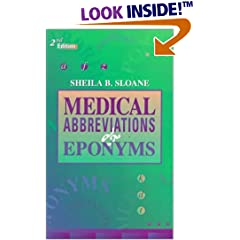 Medical Abbreviations and Eponyms