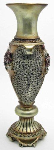 Decorative Elegant Ceramic Flower Vase 14.5-inch