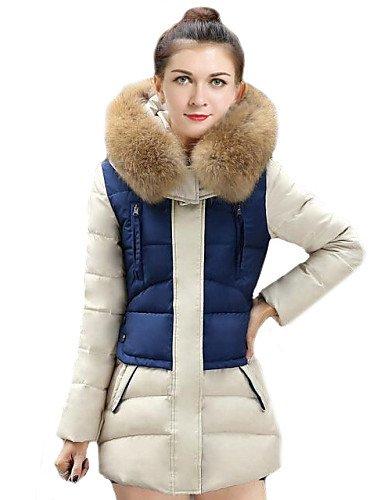 gsly-le-donne-della-moda-la-giunzione-grande-pellicce-collare-sottile-lungo-down-coatpiu-colori-blu-