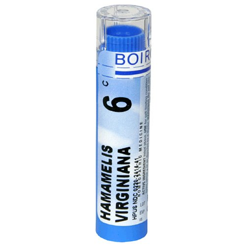 Buy Boiron Homeopathic Medicine Hamamelis Virginiana, 6C Pellets, 80-Count Tubes (Pack of 5)