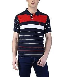 Puffz Men's Cotton Polo_04_Multicolored_XL