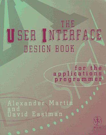 The UI Design Book for the Applications Programmer