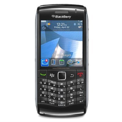 Blackberry 9100 Pearl 3G Unlocked Phone with 3 MP Camera, Wi-Fi, Bluetooth, Optical Trackpad and GPS – International Warranty – Black