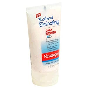Neutrogena Blackhead Eliminating daily Scrub, 4.2 Ounce (Pack of 3)