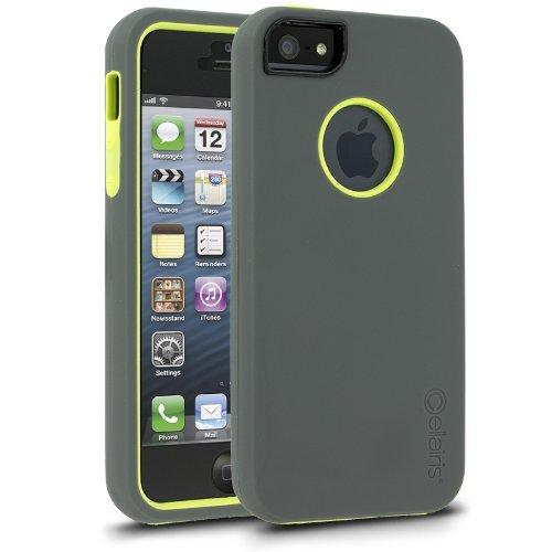 Great Sale Cellairis Rapture Elite Case for Apple iPhone 5 - Gun Metal / Citron