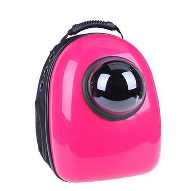 Minigum Innovative Patent Bubble Pet Carriers (pink) Delivered worldwide 7-15 days