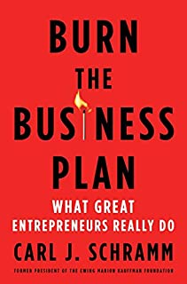 Book Cover: Burn the Business Plan: What Great Entrepreneurs Really Do