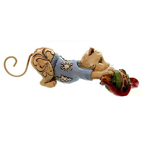 Enesco Jim Shore Mini Christmas Cat with Ornament