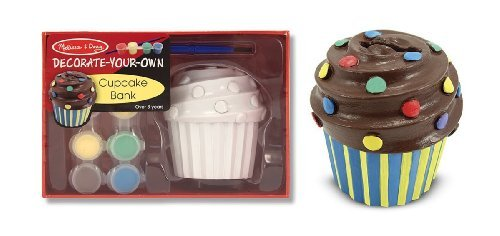 Cupcake Coin Bank Decorate-Your-Own Kit