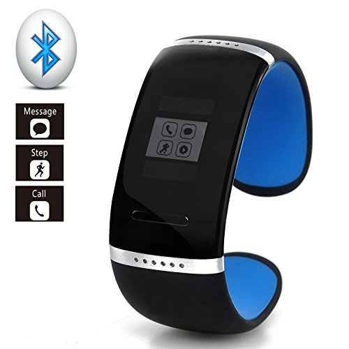 Smart Bluetooth V3.0 Bracelet Watch - For Android Phones, Oled Touch Screen, Sms/Phonebook Sync, Make/Answer Calls, Pedometer