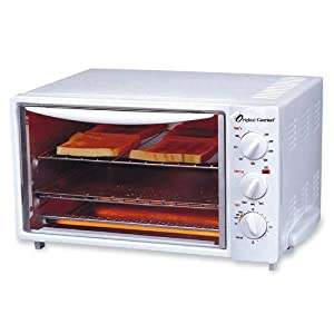 Coffee Pro Og20 Toaster Oven Bake Broil Toast White