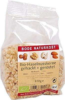 Bio Nüsse Haselnusskerne gehackt, geröstet 100g Bode von Bode - Gewürze Shop