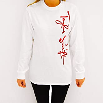 White Long Sleeve Tour Tee