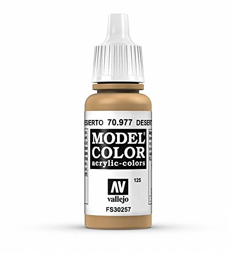 Vallejo Desert Yellow Paint, 17ml