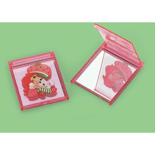 Amscan Mens Strawberry Shortcake Compact Mirrors Black Medium
