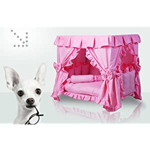 Dog Cat Handmade Pink Bed