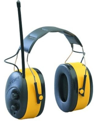 3M Peltor Worktunes Am/Fm Radio Headset With 22 Db Reduction Hearing Protector #90545