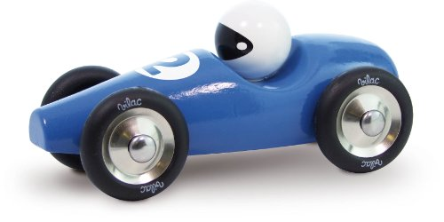 Vilac Race Car Toy, Blue