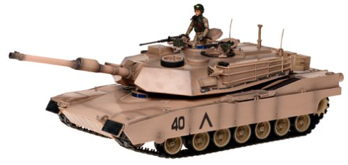 Buy Low Price Blue Box Elite Force 1/18 Scale M1 A1 Abrams Tank Maximum Detail Includes Figure (B00009ZIJT)
