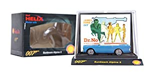 SUPER RARE COLLECTABLE Shell Helix Exclusive James Bond 007 Diecast Limited Edition Toy Car Movie Models (Sunbeam Alpine 5 Dr. No)