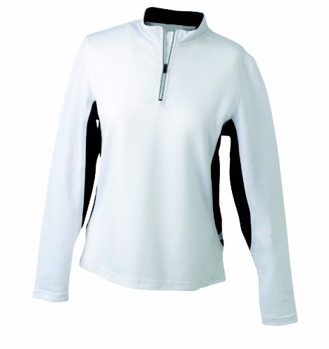 James & Nicholson Women's Running Shirt - XL, White