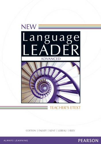 New Language Leader Advanced Teacher's Etext DVD-Rom