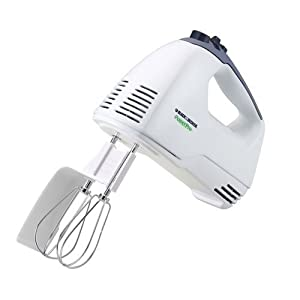 Black & Decker MX300 Power Pro Hand Mixer, White