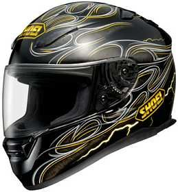 SHOEI RF-1100 FIRESTRIKE TC-3 MOTORCYCLE Full-Face-Helmet