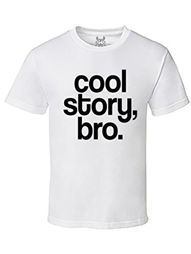 Gs-eagle Men's M0025TS PRINTED Cool Story Bro Graphic Design T-Shirts (Cool Story Bro T Shirt compare prices)