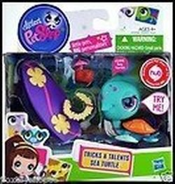 Littlest Pet Shop Tricks Talents Figure Sea Turtle
