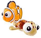 Sassy Disney Wind-Up Toy, Finding Nemo, 2 Count