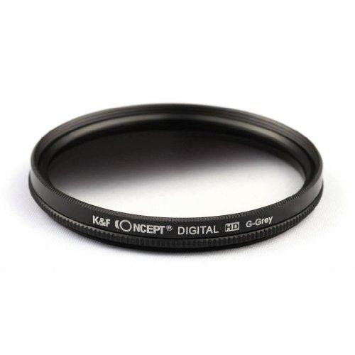K&F Concept 77Mm Graduated Neutral Density Nd Grey Filter For Canon 6D 5D Mark Ii 5D Mark Iii For Nikon D610 D700 D800 Dslr Cameras + Lens Cleaning Cloth