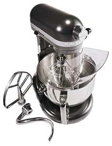KitchenAid KP26M1XDP Professional 600 Series 6-Quart Stand Mixer, Dark Pewter
