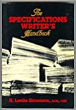 The Specification Writer's Handbook (0471815799) by Simmons, H. Leslie
