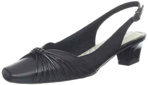 Easy Street Women's Echo Pump,Black,6.5 N US