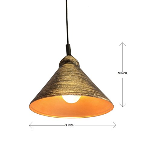 Design Villa Golden Shading Color Hanging Lamp