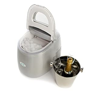 Andrew James Compact Countertop Ice Maker : ... to get IceAppliance Original ZB-01 Countertop Ice Cube Maker - Silver