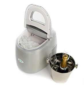 IceAppliance Original ZB-01 Countertop Ice Cube Maker - Silver